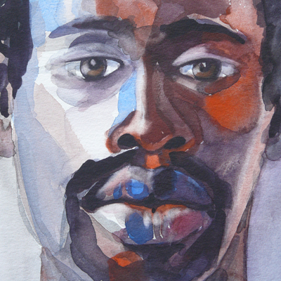 Lamin Rasta watercolor